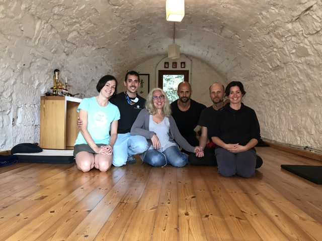 equipo el Bori Sa Kan um escuela de zen