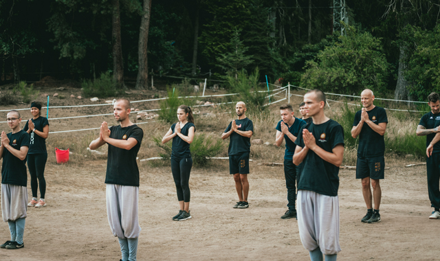 entrenamiento kung fu - templo shaolin europa