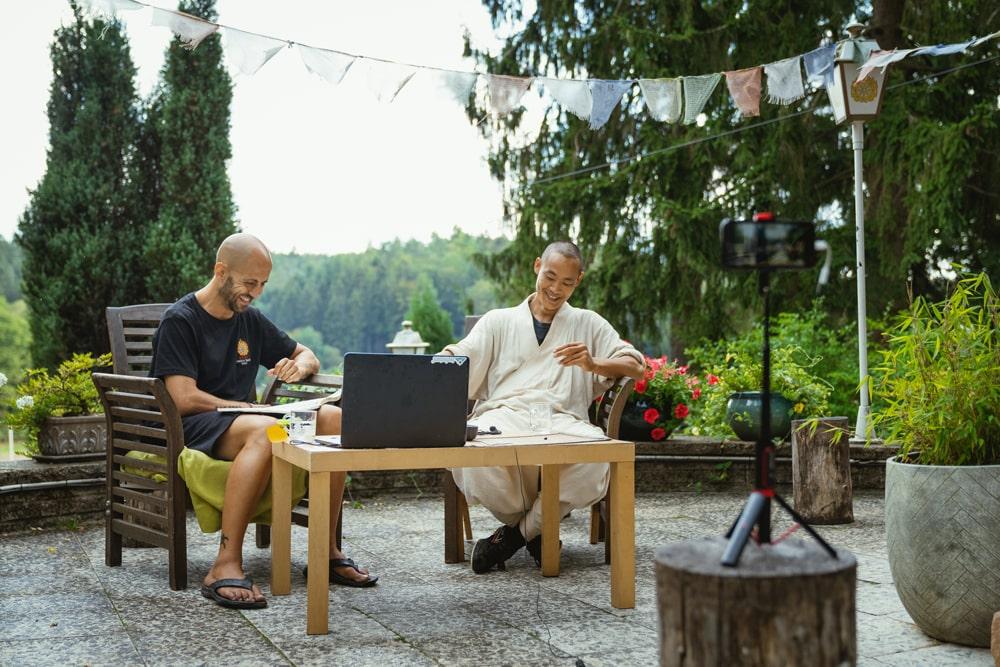 entrevista al maestro Shaolin Shi Heng Yi
