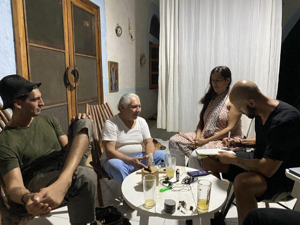 Entrevista al Abuelito Antonio Oxté