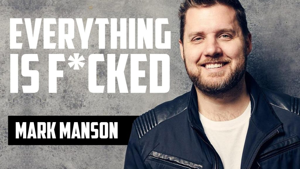 Mark Manson at Disrupt Everything podcast