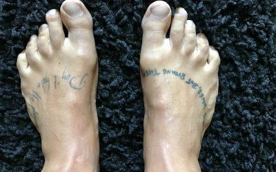 Andar descalzo durante 31 días – experimento