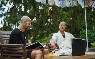Entrevista a Shi Heng Yi, maestro del Templo Shaolin Europa