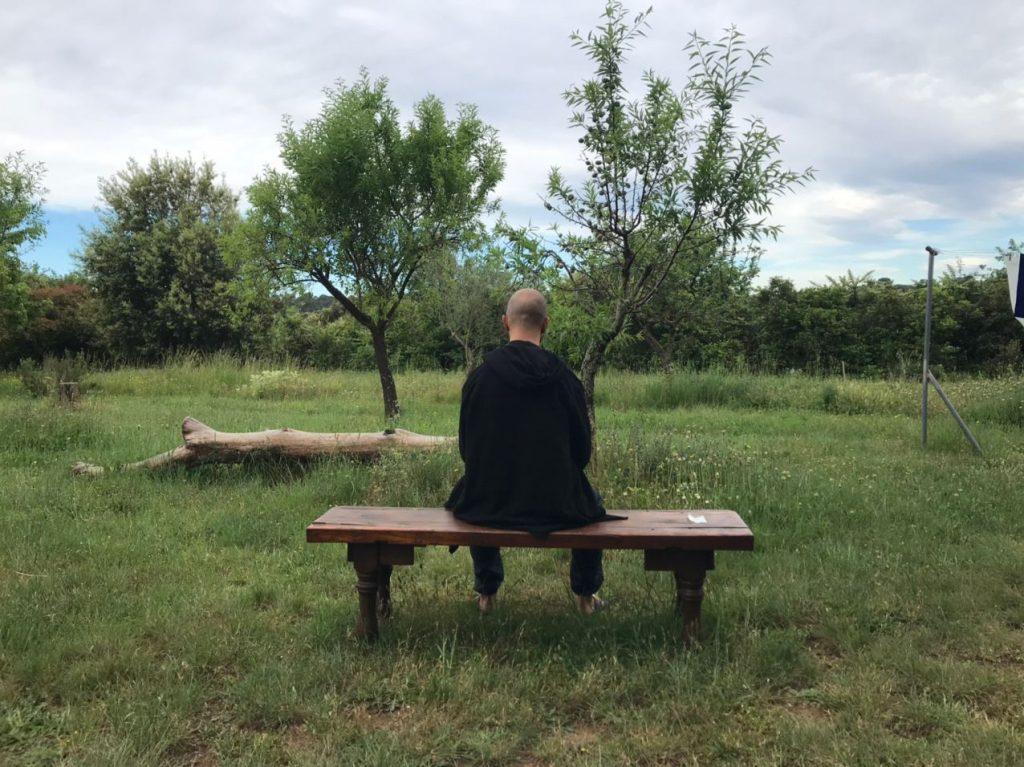 experiencia de la técnica de meditación vipassana