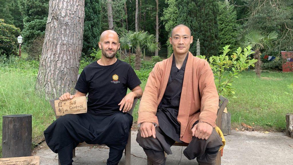Maestro Shaolin Shi Heng Yi