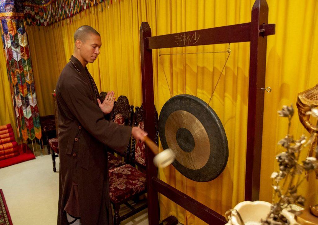 Shaolin novice Shi Miao Hai