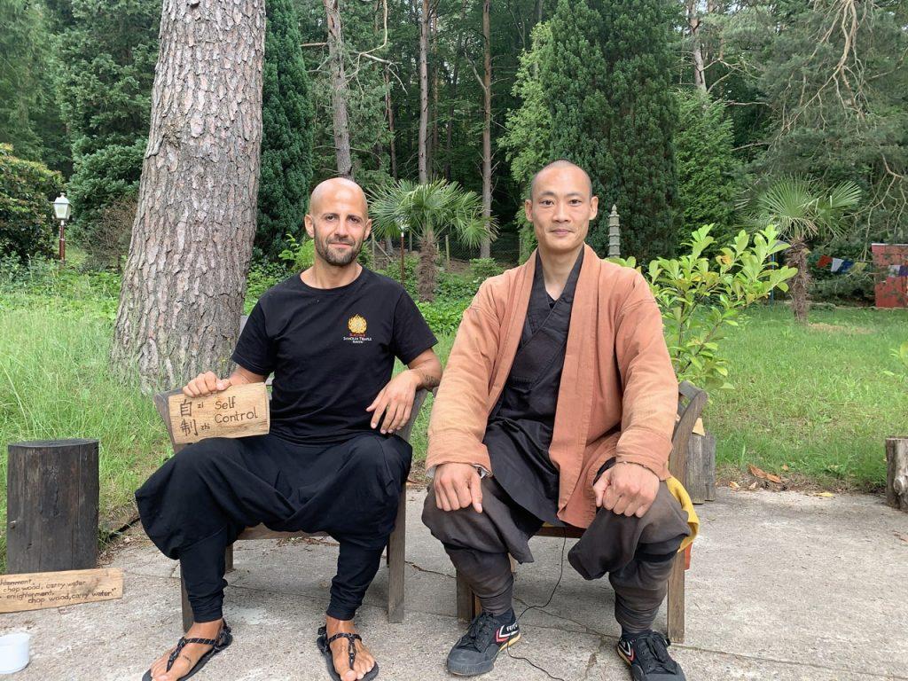 entrevista al maestro shaolin shi heng yi por parte de isra garcia