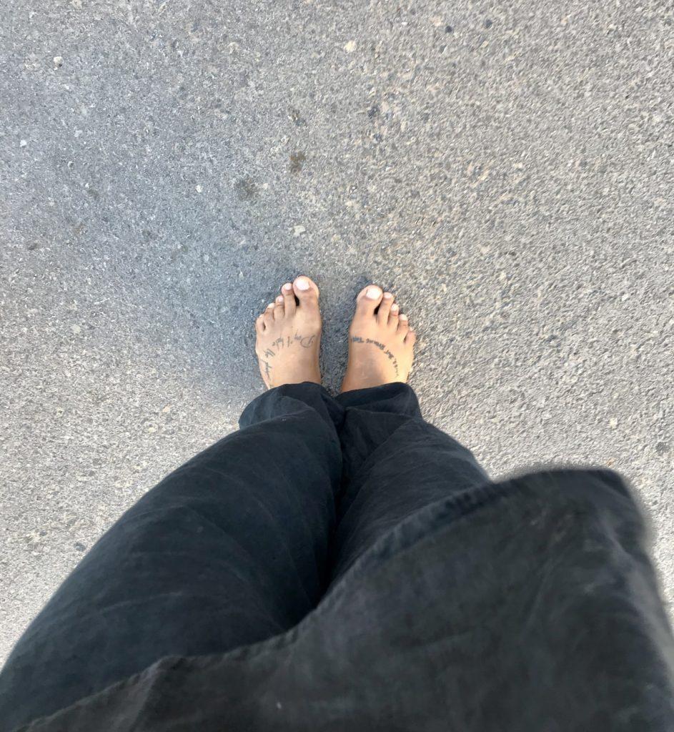 vivir sin calzado - experimento de estilo de vida
